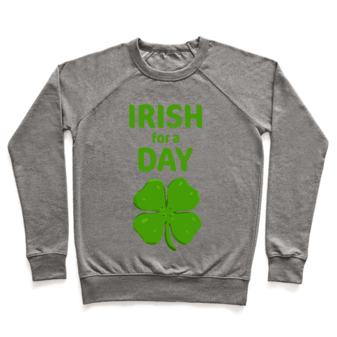 Irish for a Day Pullover