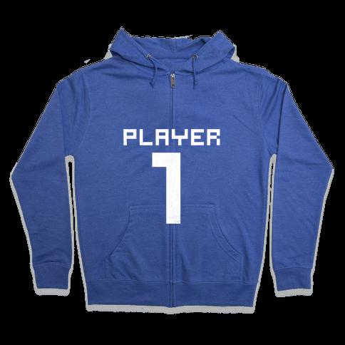 Player 1 Zip Hoodie