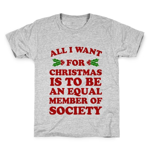 What I want for Christmas Kids T-Shirt