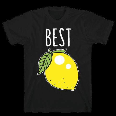 Best Friends: Lemon Mens T-Shirt