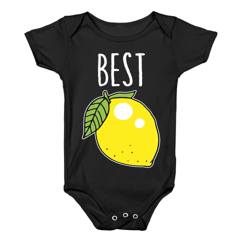 Best Friends: Lemon Baby Onesy
