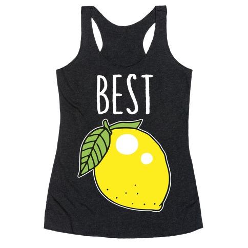 Best Friends: Lemon Racerback Tank Top