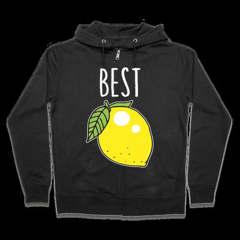 Best Friends: Lemon Zip Hoodie