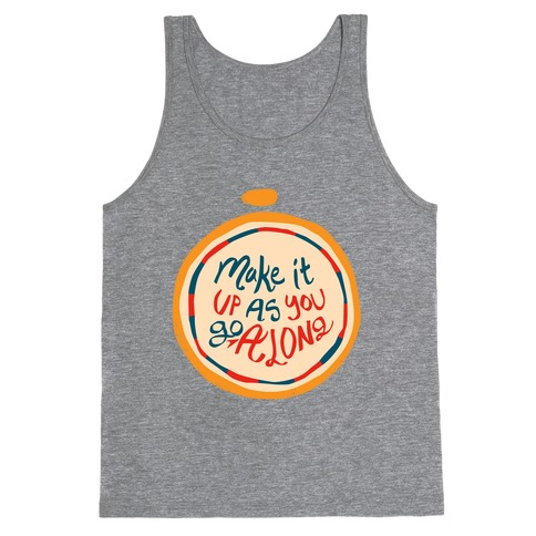 Make it Up as You Go Along Life Compass Tank Top