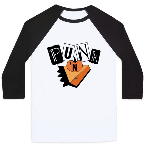 Punk N' Pie Baseball Tee