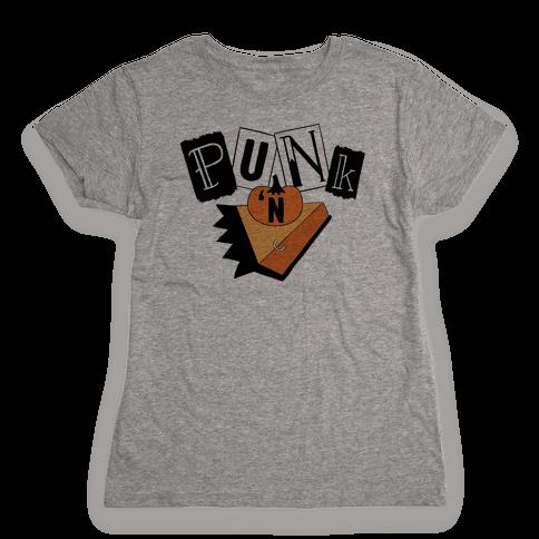 Punk N' Pie Womens T-Shirt