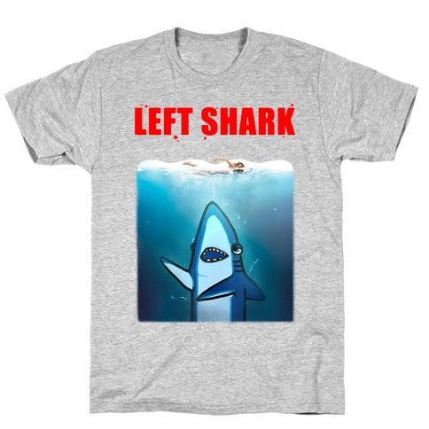 Left Shark Jaws Parody T-Shirt