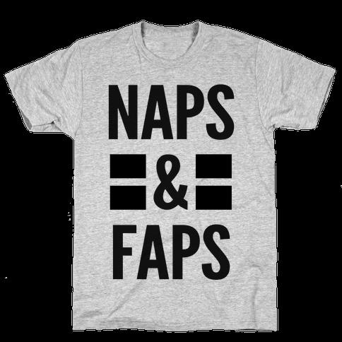 Naps & Faps Mens T-Shirt