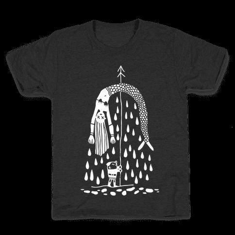 Mermaid Hunter Kids T-Shirt