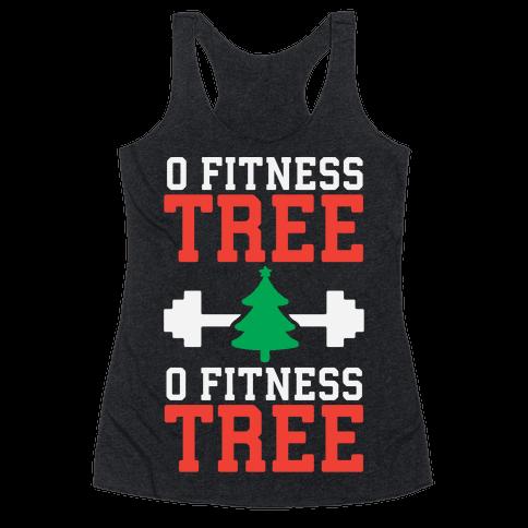 O Fitness Tree, O Fitness Tree Racerback Tank Top