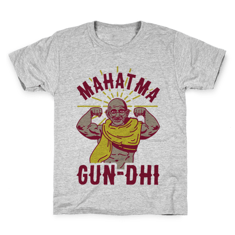 Mahatma Gun-dhi Kids T-Shirt