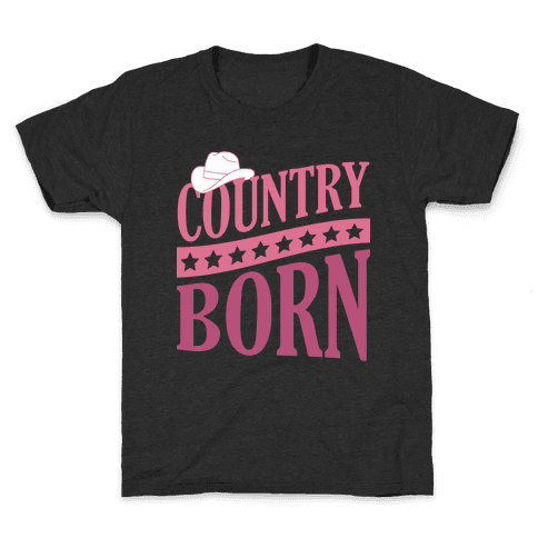 Country Born Kids T-Shirt
