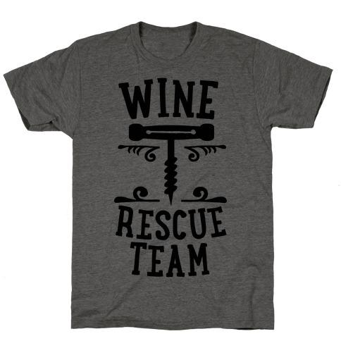 Wine Rescue Team T-Shirt
