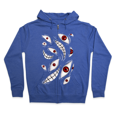 Homunculus Shirt (Pride) Zip Hoodie