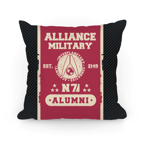 Alliance Military Alumni Pillow