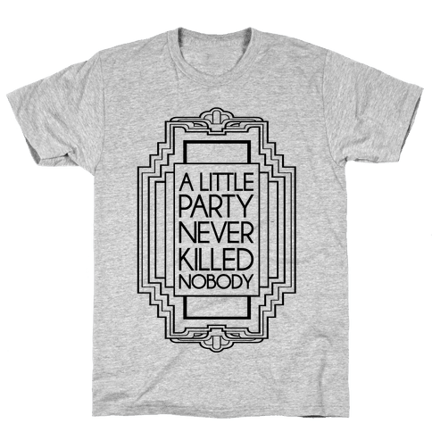 Party Mens T-Shirt