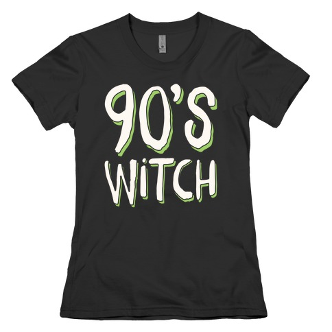 90's Witch Womens T-Shirt