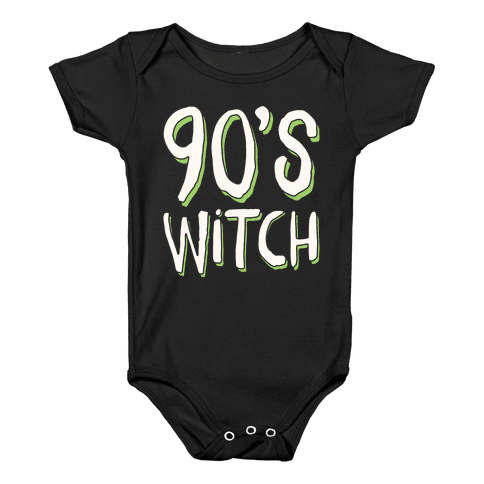 90's Witch Baby Onesy