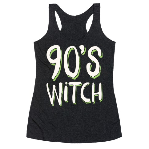 90's Witch Racerback Tank Top