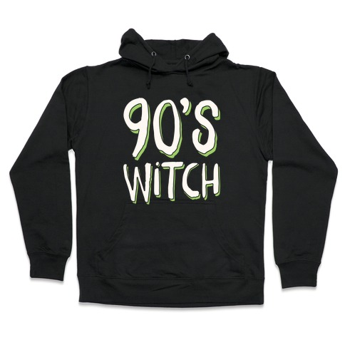 90's Witch Hooded Sweatshirt