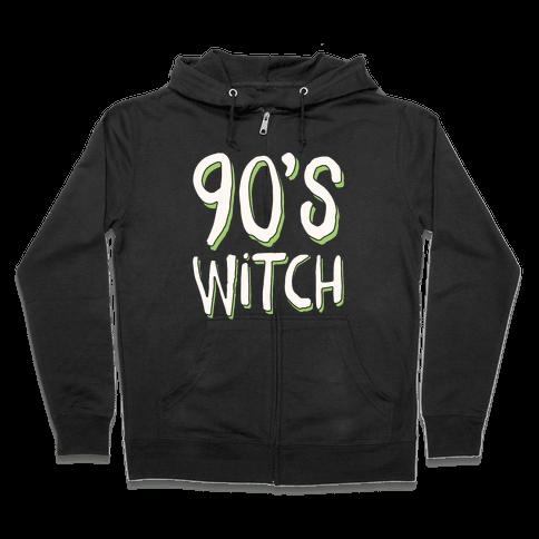 90's Witch Zip Hoodie