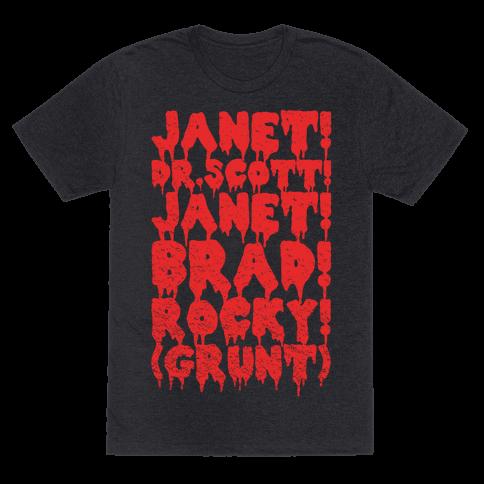 Janet, Dr. Scott, Janet, Brad, Rocky!
