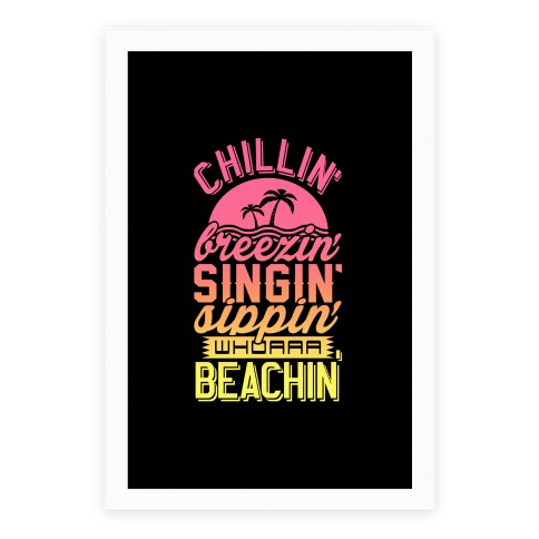 Beachin' Poster