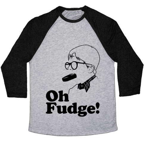 Oh Fudge! Baseball Tee