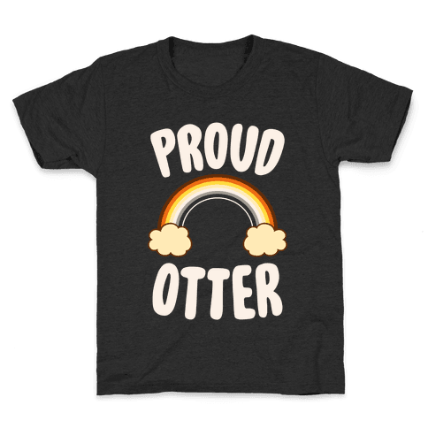 Proud Otter Kids T-Shirt
