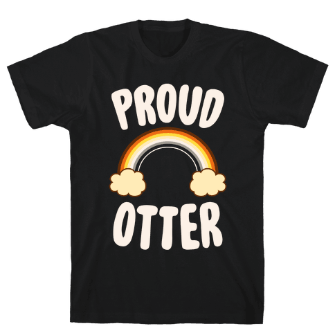 Proud Otter Mens T-Shirt