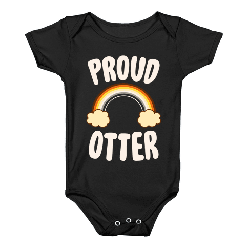 Proud Otter Baby Onesy