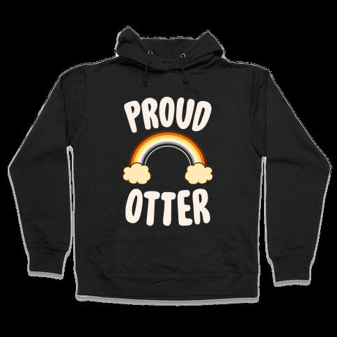 Proud Otter Hooded Sweatshirt