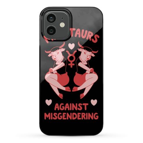 Minotaurs Against Misgendering Phone Case
