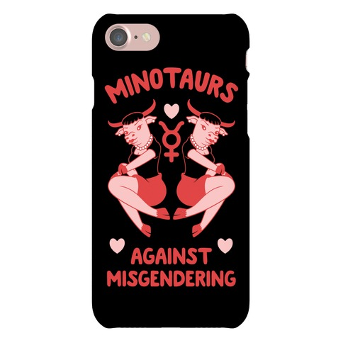 Minotaurs Against Misgendering Phone Case