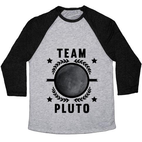 Team Pluto Baseball Tee