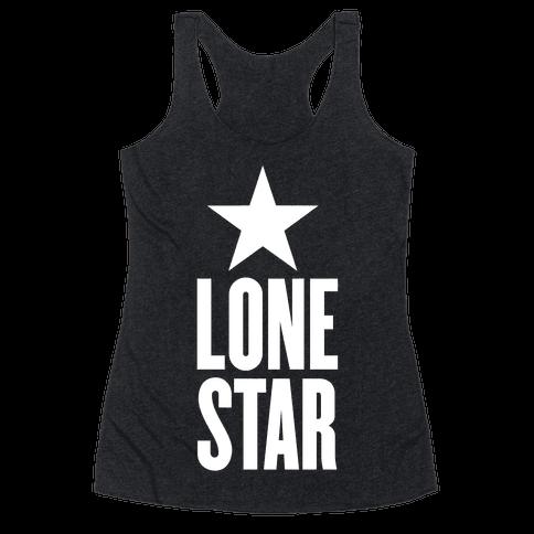 The Lone Star Racerback Tank Top