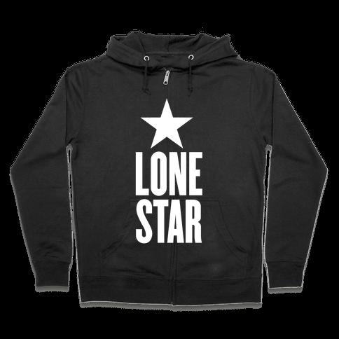 The Lone Star Zip Hoodie