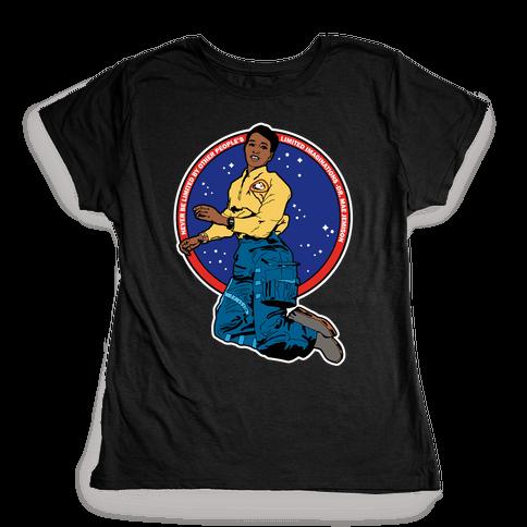 Dr. Mae Jemison Astronaut Womens T-Shirt
