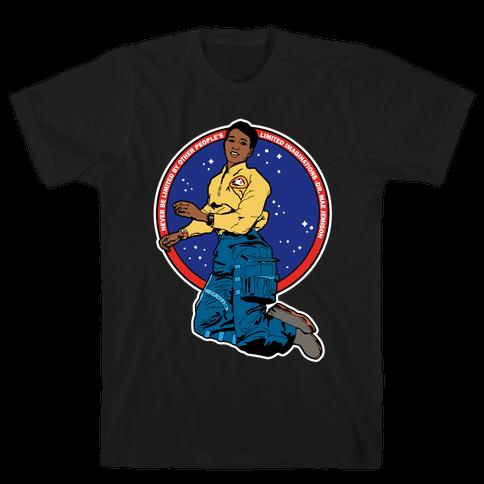 Dr. Mae Jemison Astronaut Mens T-Shirt