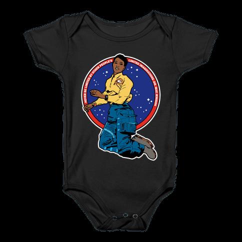 Dr. Mae Jemison Astronaut Baby Onesy