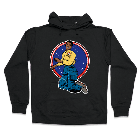 Dr. Mae Jemison Astronaut Hooded Sweatshirt