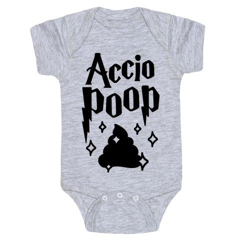 Accio Poop Baby Onesy