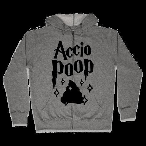 Accio Poop Zip Hoodie