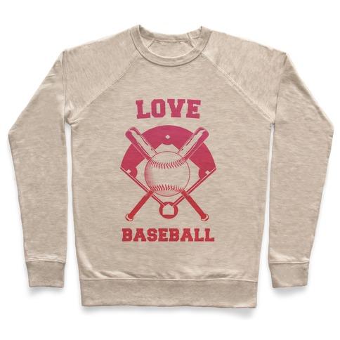 Love Baseball Pullover