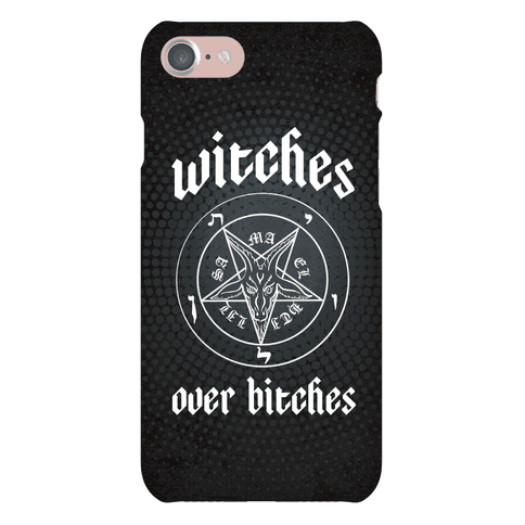 Witches Over Bitches Phone Case