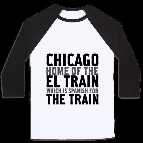 Chicago Baseball Tee