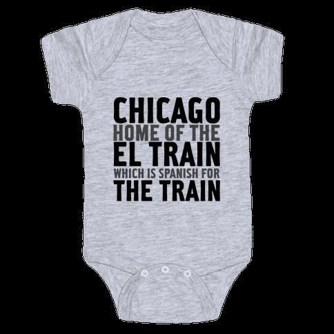 Chicago Baby Onesy