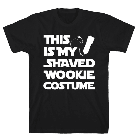 Shaved Wookie Costume Mens T-Shirt