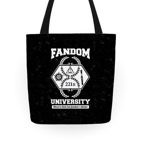 Fandom University Tote