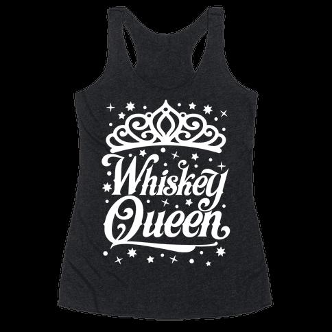 Whiskey Queen Racerback Tank Top